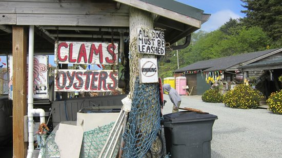 Rockaway Beach, OR: fresh seafood