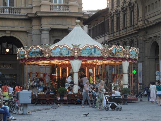 Hotel Olimpia: piazza