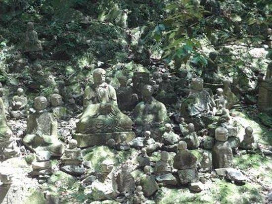 Kiyomizu Temple: たくさんの羅漢さん