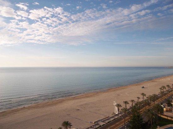 Playa Muchavista: prise de vue d'un logement en front du mer donnant sur la plage