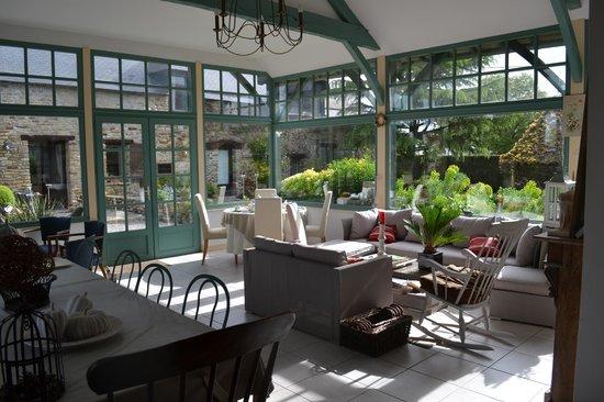 La Raimonderie : Breakfast room
