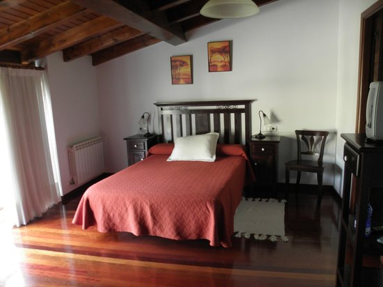 Casa da Botica de Loimil: Dormitorio