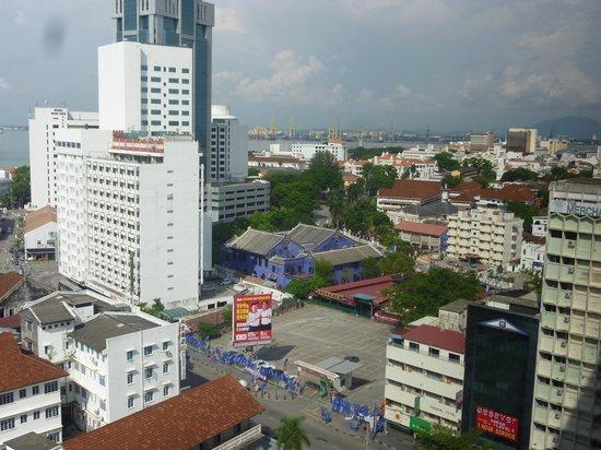 Cititel Penang: city from 12th floor Cititel