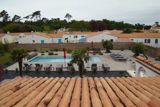 Hôtel de Vert Bois : piscine