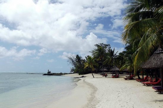 Constance Prince Maurice: The beach in front of my villa