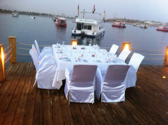On Deck - Floating Restaurant : Dinner setup at the On Deck 2