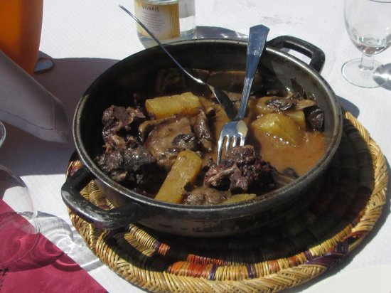 Os de Civis, Spain: Stewed Wild Boar