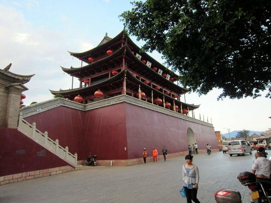 Jianshui County, China: Zhaoyang Tower, East Gate