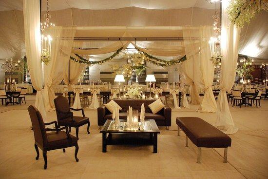 Pearl Continental Hotel Karachi : Marquee - Reception Setup