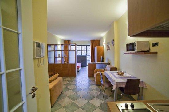 2Gi Residence Ajraghi : Appartamento Living - ingresso