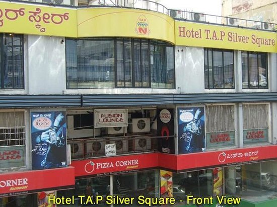 T.A.P. Silver Square: Front View