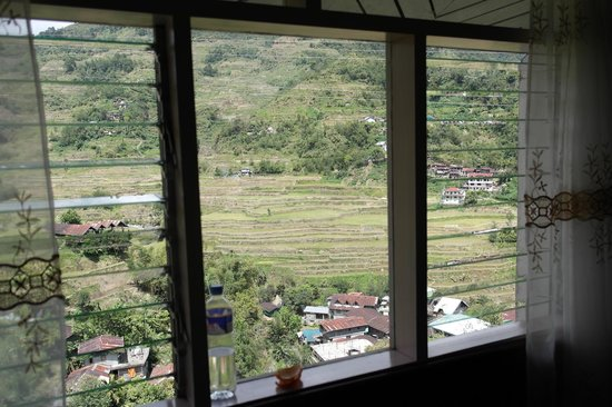 Banaue Homestay: View from the room