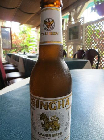 China Boat Restaurant: Excellent unusual beers.