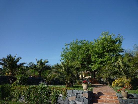 Casa Gallida: Accès à la piscine
