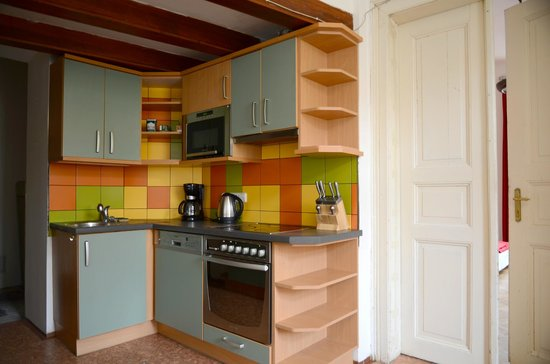 Hostel Lipa: Common kitchen