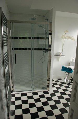 Maison d'hôtes de la Lys : Salle de bain Stanislas
