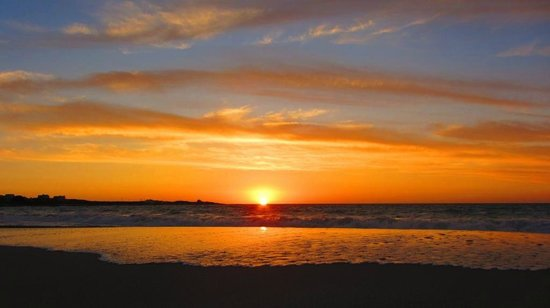 Absolute Beach Accommodation: Absolute Beach  - Sunset