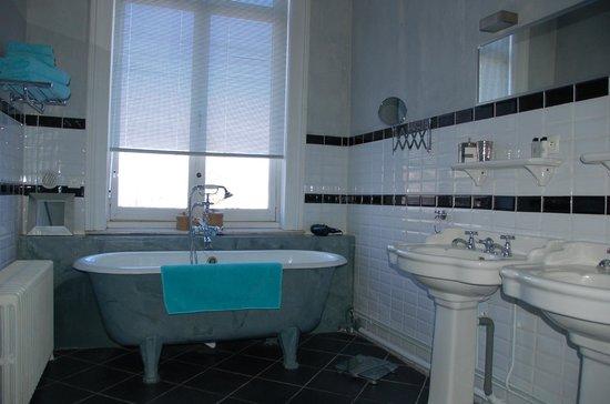 Maison d'hôtes de la Lys : Salle de bain Auger