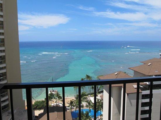 Waikiki Parc Hotel: View