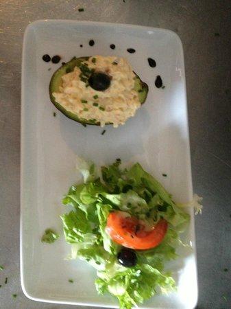 La Caravelle: Avocat crevettes