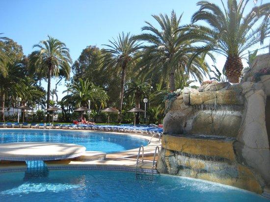 Port Denia: Pool area