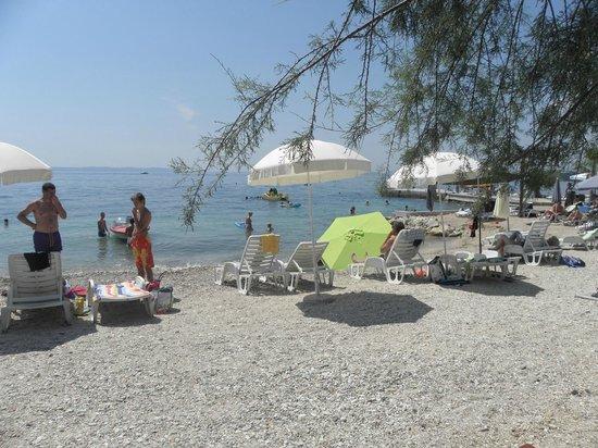 Villa Pinocchio: Beach