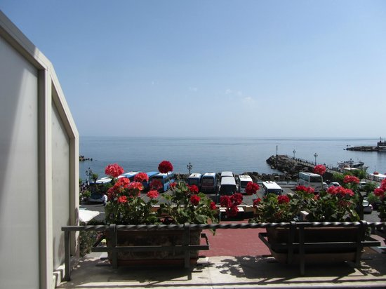 Lidomare Hotel: Flowers and sea views from the balcony