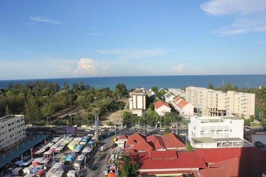 Huahin Grand Hotel & Plaza : View from window