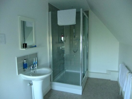 The Forester: Very good en-suite shower