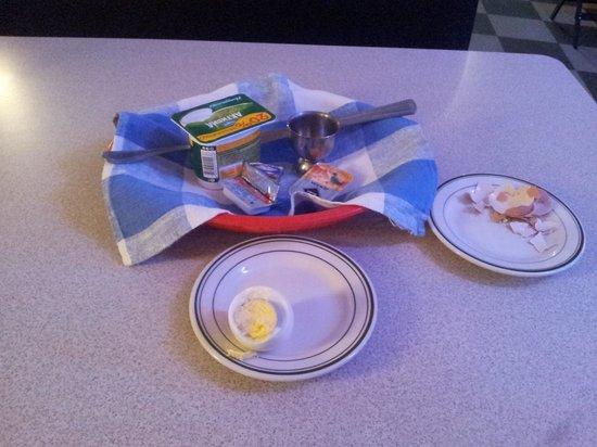 Bentley Hotel: убогий завтрак