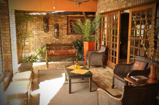 Ikwekwezi Boutique Estate : Courtyard