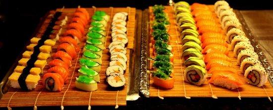 Sushi på Rose Garden