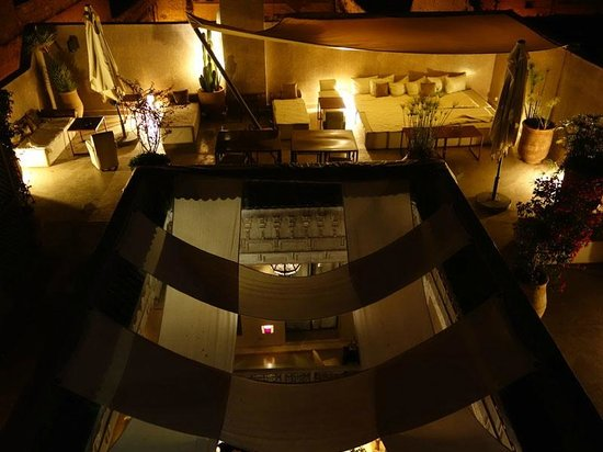 Riad Dar One: The view from the Sirocco terrace