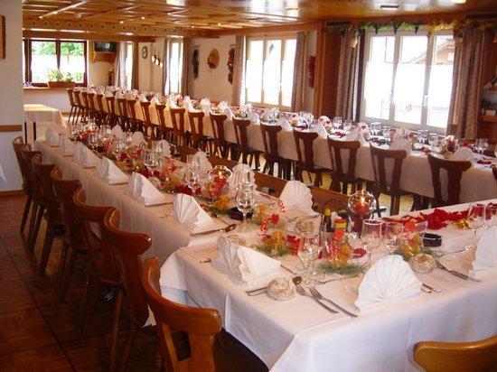 Hotel-Restaurant Alpina Wolfenschiessen: Saal