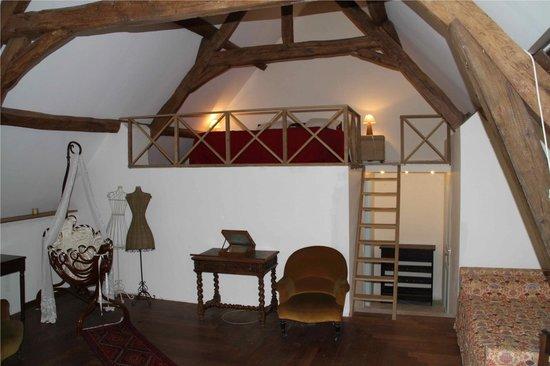 chambre mezzanine - Photo de La Grande Rosaye, Ceton - TripAdvisor