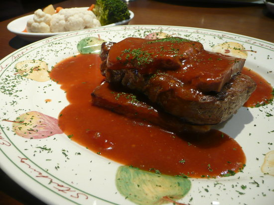 The Old Ginn House Inn: Fillet Steak Tournedos Rossini