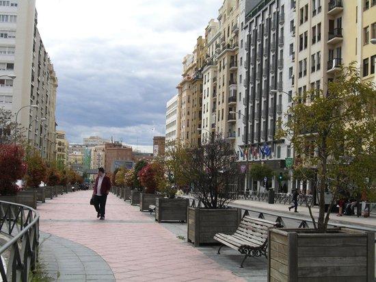 Hotel VP Jardin Metropolitano: Avenida Reina Victoria