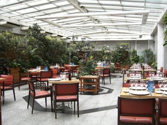 Jardin Metropolitano: Restaurant at the hotel