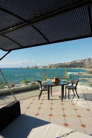 Princessa Hotel: Rooftop terrace