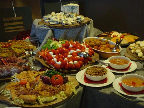 Il buffet...