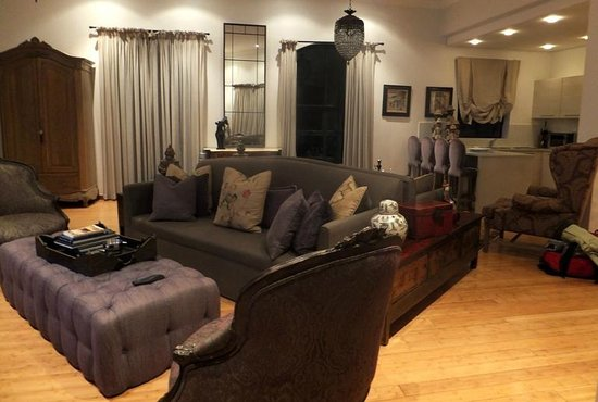 The Ivy Apartments: The main living area of Apt 1