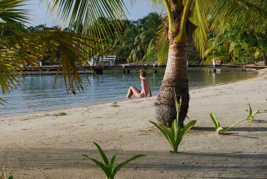 Pelican Beach - South Water Caye: ...and relax