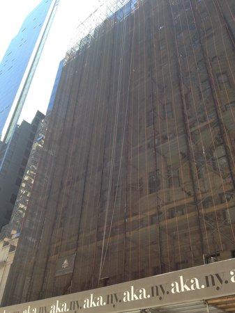 AKA Times Square: la façade