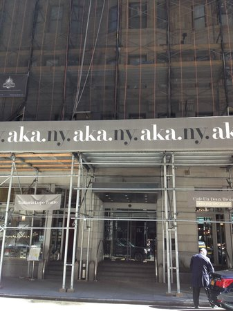 AKA Times Square: l'entrée