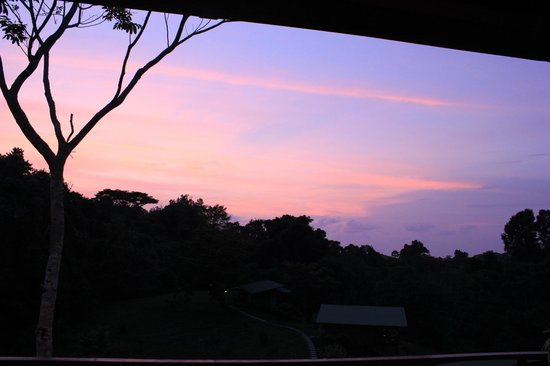 Finca Maresia: Sunset from the deck