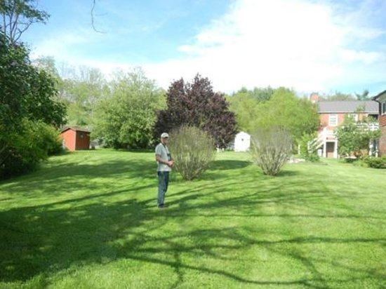 Hidden Valley Bed and Breakfast: yard around the house