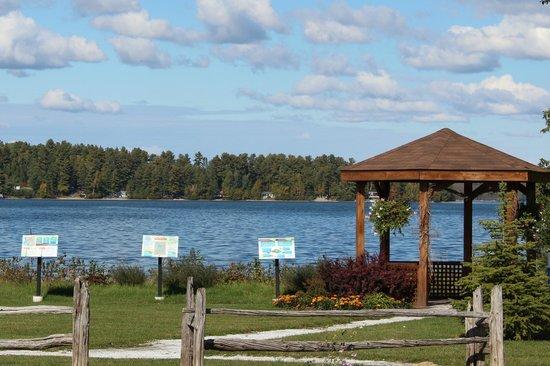 Parc des Ancetres Blue Sea Lake