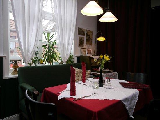 Gasthof Oldenwöhrden: historische Gaststube