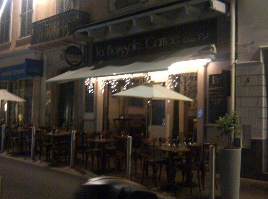 La boussole carree: The restaurant