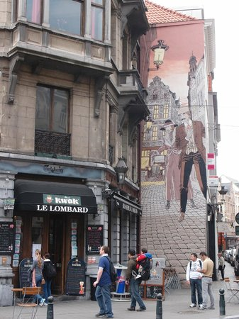 Café le Lombard: Cafe Le Lombard